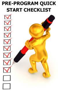 21 day fast mass building checklist