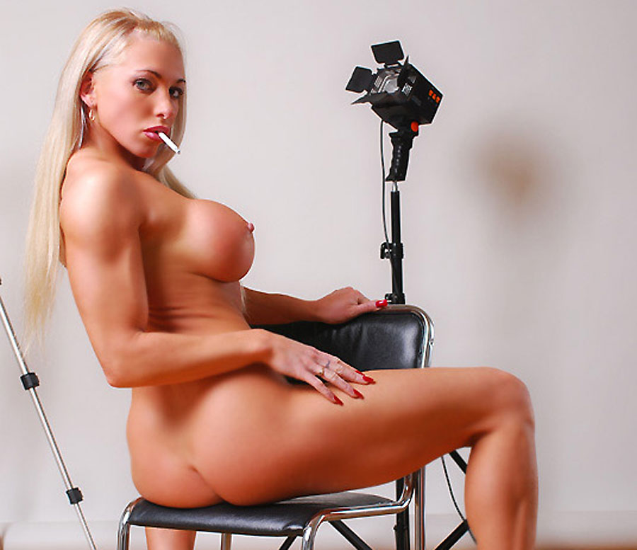 famous hungarian female bodybuilder krisztina sereny naked smoker