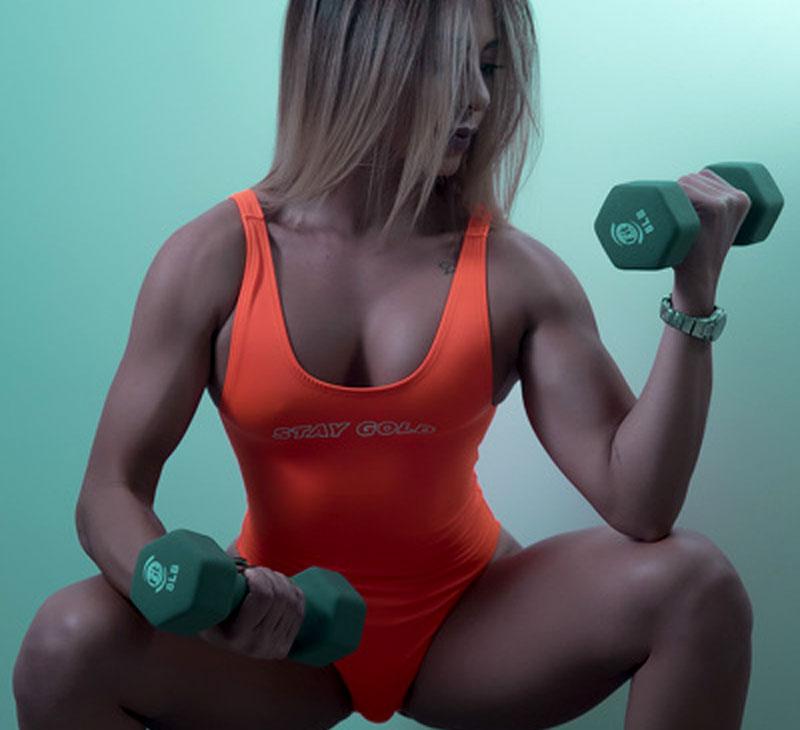 athletic latina gym lover evashaik