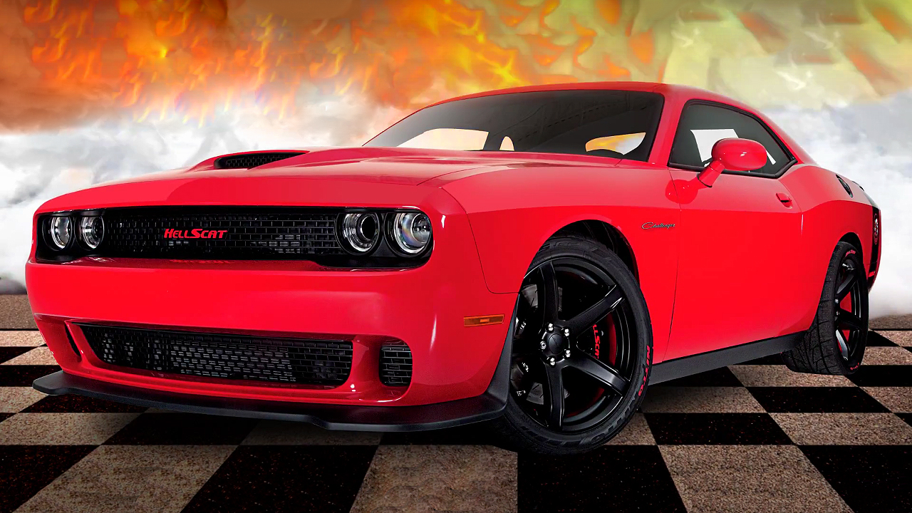 Drag Car 4k Wallpaper Win This 1000 Horsepower One And Only 2017 Challenger Hellscat