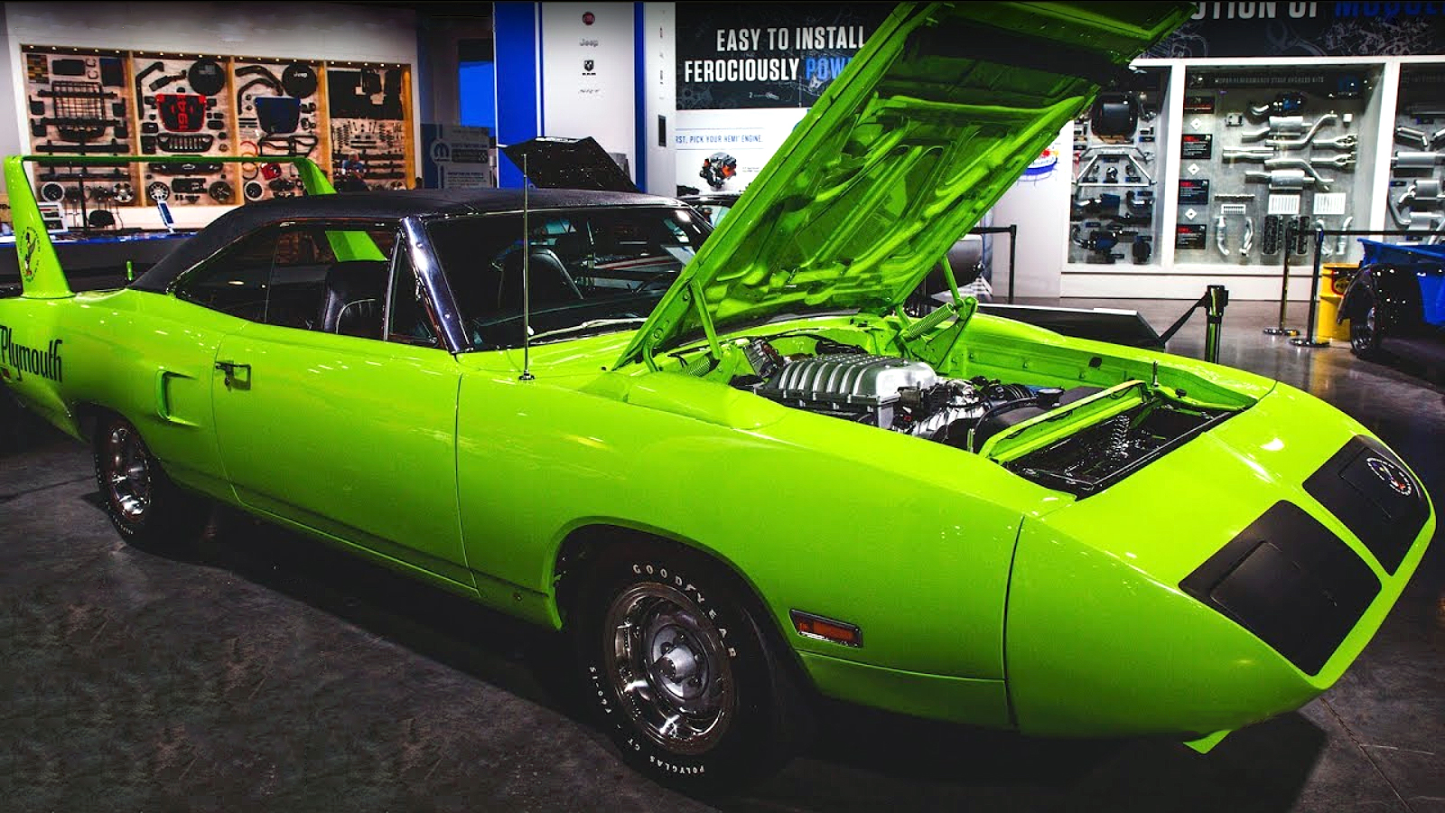 hight resolution of hellcat powered 1970 plymouth superbird by graveyard carz isuzu npr manual transmission cadillac ats black wheels