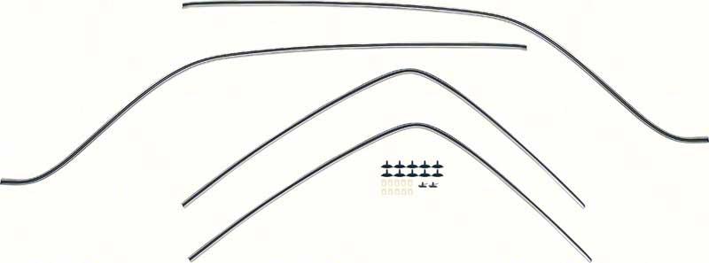 67-69 Camaro/Firebird Small Block Radiator M/T 3 Row