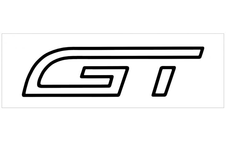 1993-94 Ford Probe GT Door Decal