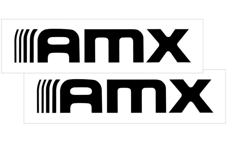 1977 AMC Hornet AMX Quarter Panel Decal Set