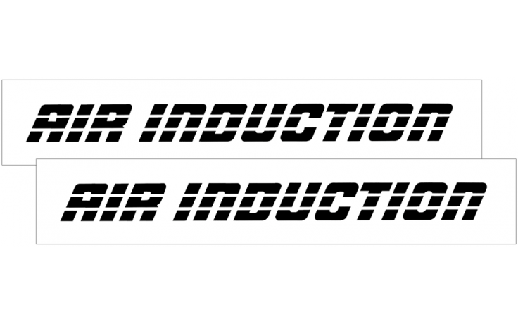 1993-02 Camaro AIR INDUCTION Decal Set