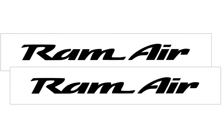 1993-02 Camaro RAM AIR Decal Set