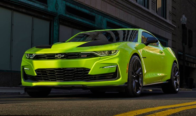 2020 Chevrolet Camaro Will Introduce Shock And Steel Special Edition