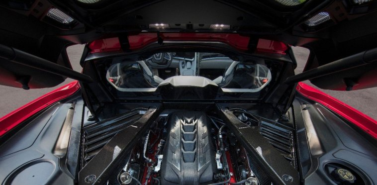 2020 Corvette Stingray Engine