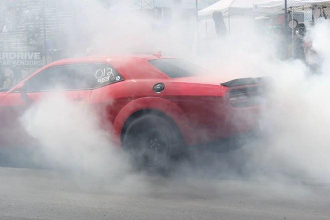 Dodge Demon Burnout