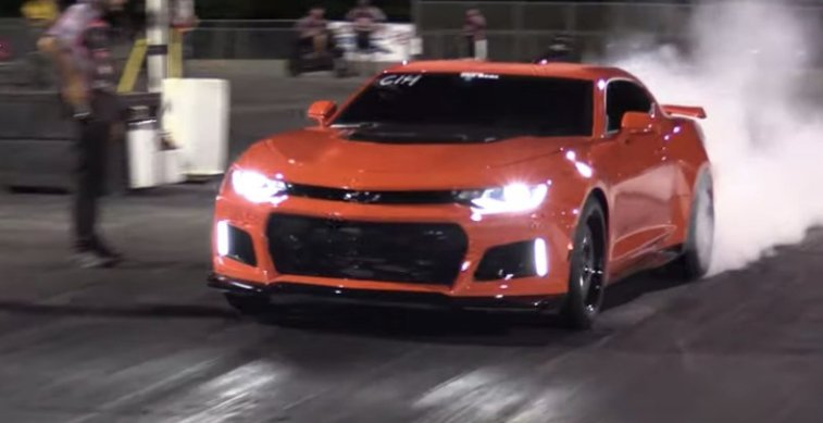 2019 CAMARO ZL1 WITH STOCK SUPERCHARGER RUNS 9 5s