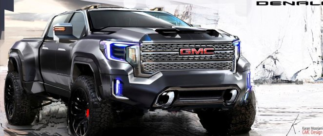 GMC Sierra HD Denali Design