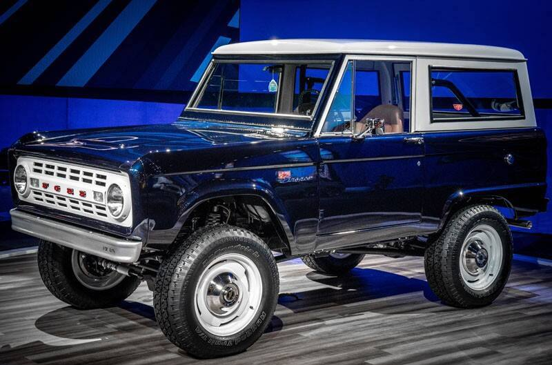 Ford Bronco Owned By Jay Leno Has Mustang GT500 Engine: Video - Muscle Cars and Trucks Media