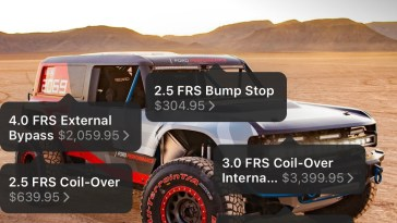 Ford Bronco R Suspension