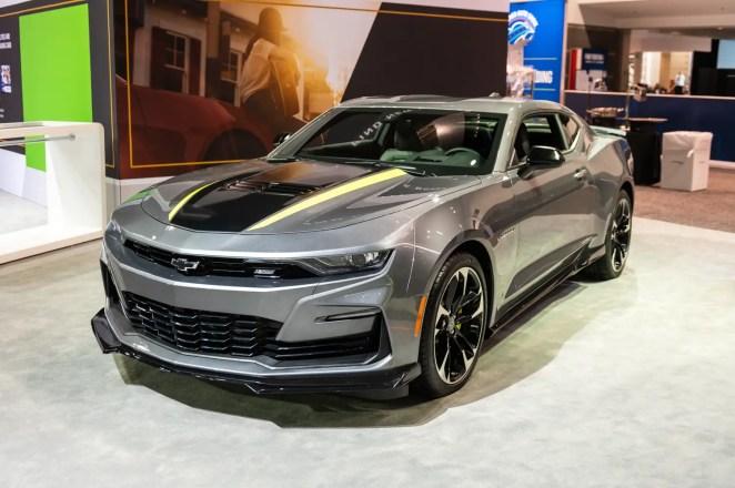 2020 Chevrolet Camaro Shock and Steel Special Edition