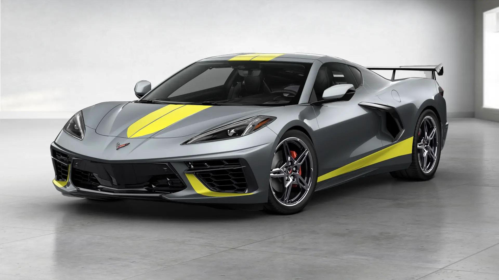 2021 Corvette Z07 Interior