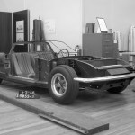 mid engined Ford Mustang prototype