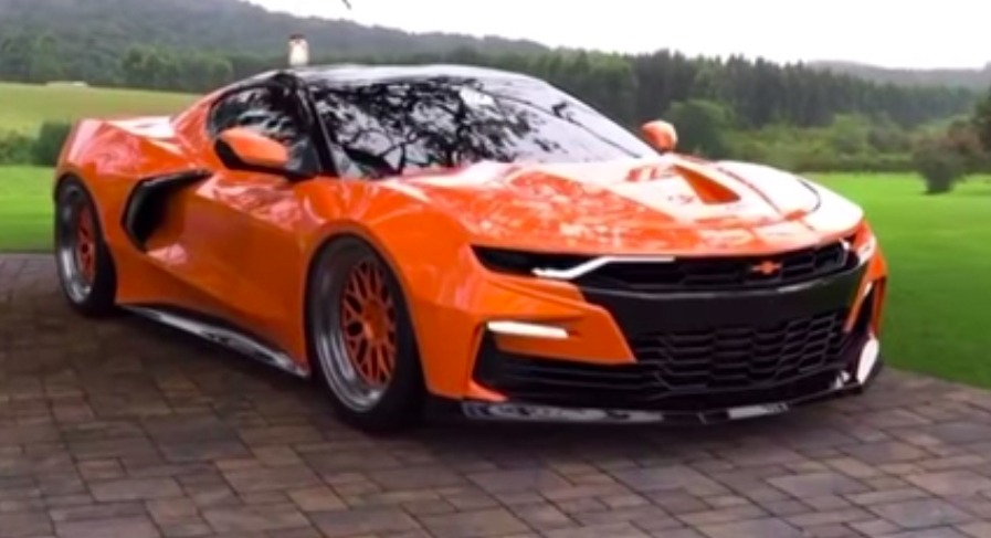 This Is The Mid Engine Chevrolet Camaro To End All Others
