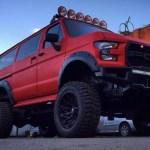 Ford Raptor Bus