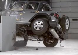 Jeep Wrangler rollover