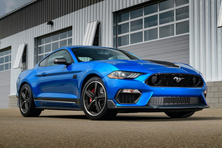 2021 Ford Mustang Mach 1 Price Blue Specs Info Photos