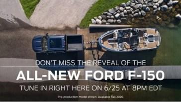 2021 Ford F-150 Teaser