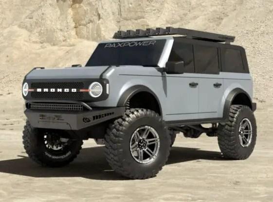 Bronco V8 Swap Pax Power Rendering
