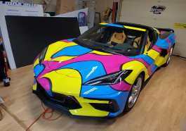 C8 Corvette Wrap