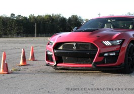 2020 Ford Mustang Shelby GT500 Race Red DRSCCA Oscoda Autocross