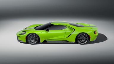 2021 Ford GT Heritage Edition Green