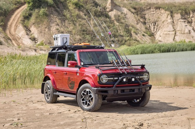 2021 Ford Bronco Fishing Guide Concept