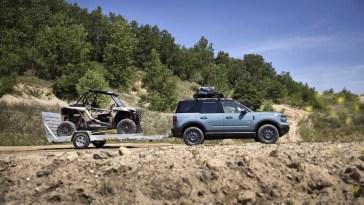 2021 Ford Bronco Sport Tow RZR Badlands Concept