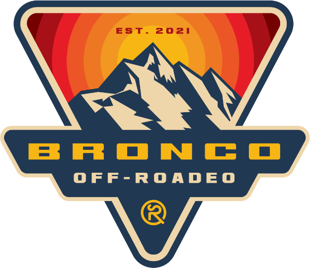 Ford Bronco Off-Roadeo Badge