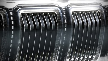 2021 2022 Jeep Grand Wagoneer SUV Grille