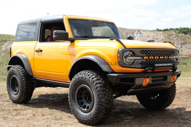 2021 Ford Bronco Accessories Concept Raptor Warthog Prototype