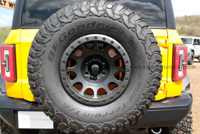 2021 Ford Bronco Accessories Concept Wheel Tire