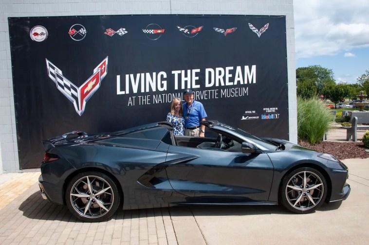 Dan Akerson C8 Corvette