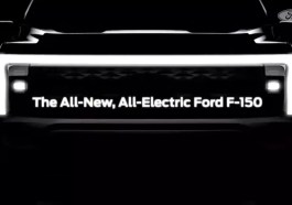 Electric Ford F-150 Teaser Photo Video