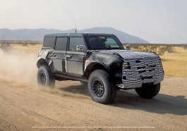 Ford Bronco Warthog Raptor Spy Shot Teaser Photo Official