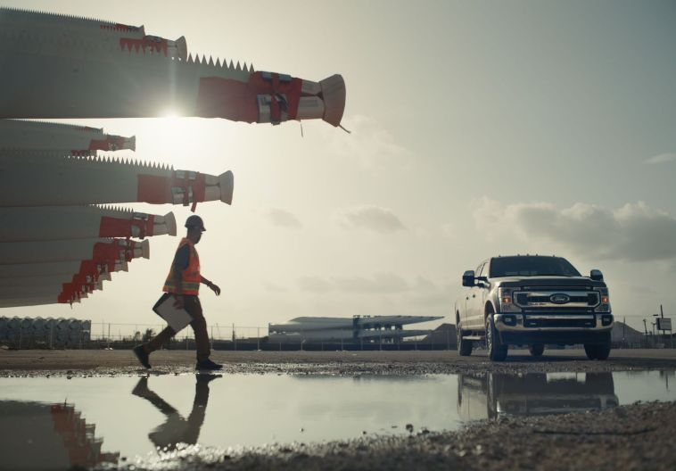 Ford Built For America Ad 2021 F-150