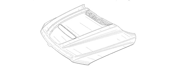 Mopar Concept Hood Ram TRX LowDown SEMA Patent