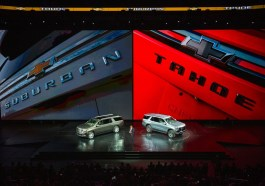 Chevrolet Suburban Tahoe Reveal Find New Roads