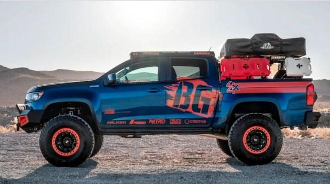 Chevy Colorado Overlanding Truck
