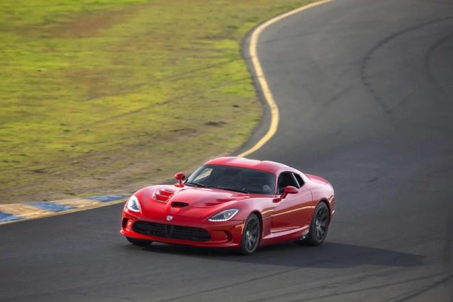 Viper On Track In Sonoma, California