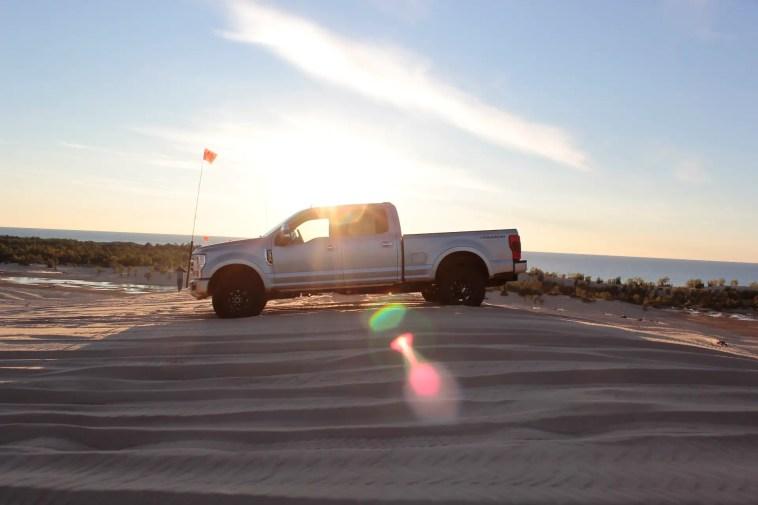 2020 Ford F-350 Super Duty Tremor Silver Lake Michigan Review