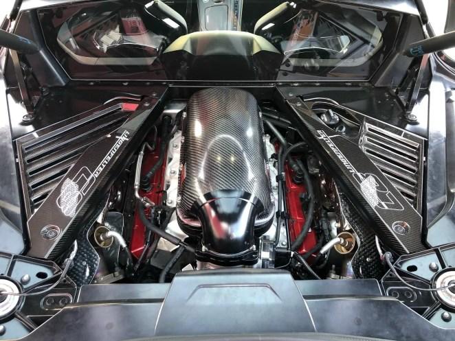 Lingenfelter C8 Corvette Engine Intake Manifold Carbon Fiber