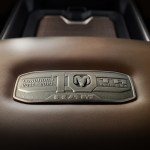 2021 Ram 1500 Limited Longhorn 10th Anniversary Edition center console metal badge