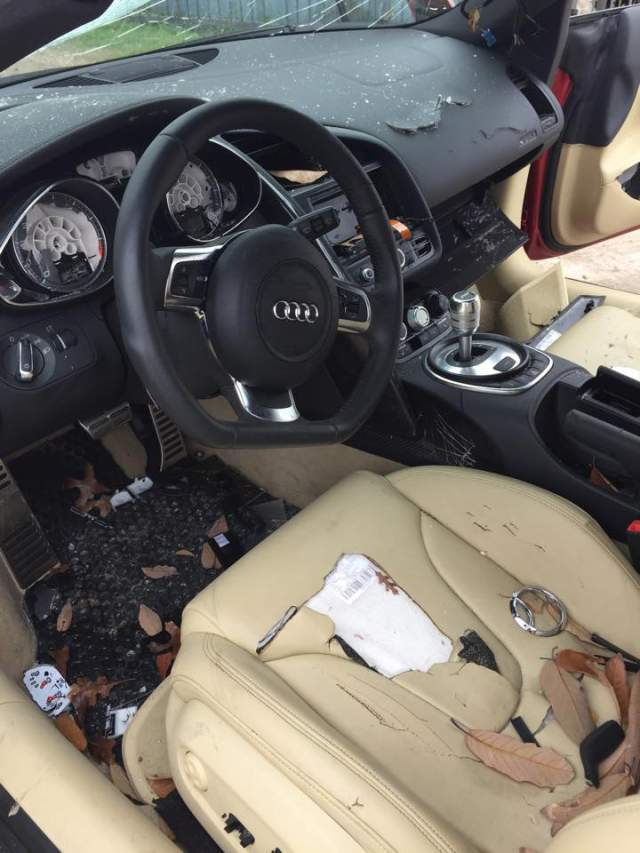CHEATERS May End Up With A WRECKED CAR Like This AUDI R8