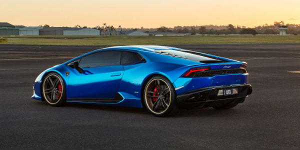 Chrome Blue Lamborghini Huracan Tuned By Sunus Motorsport ...