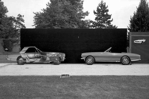 3 1961-1962 Two-Seater Studies 17 Ford Mustang Concepts