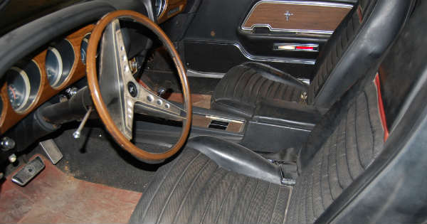 1969 Cobra Jet Mustang Barn Find 44